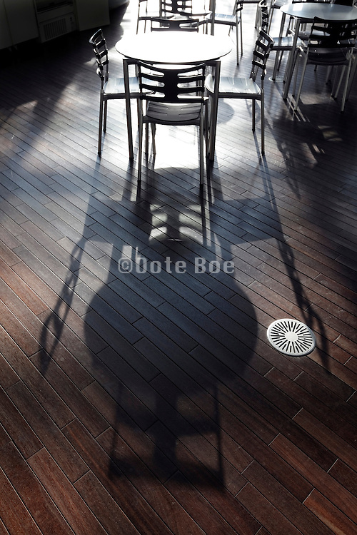 round tables and chairs nobody