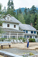 Lake Crescent Lodge, Lake Crescent, Olympic National Park, WA.