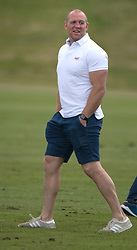 Mike Tindall at the Gloucestershire Festival of Polo at Beaufort Polo Club in Tetbury, Gloucestershire.