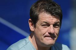 Newcastle United Manager, John Carver - Photo mandatory by-line: Dougie Allward/JMP - Mobile: 07966 386802 - 16/05/2015 - SPORT - football - London - Loftus Road - QPR v Newcastle United - Barclays Premier League