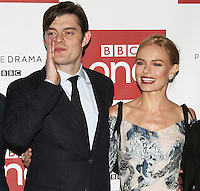 Sam Riley & Kate Bosworth, BBC One's SS-GB - World Premiere, Mayfair Hotel, London UK, 30 January 2017, Photo by Brett D. Cove