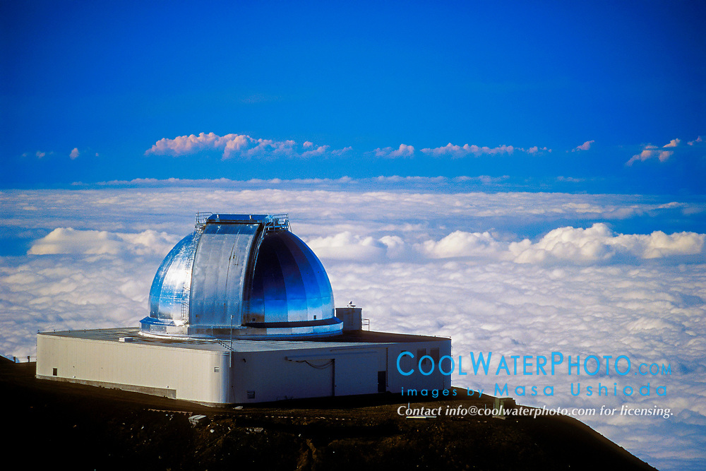 NASA Infrared Telescope Facility IRTF, Mauna Kea Observatories, Big Island, Hawaii