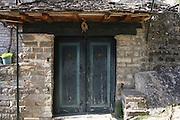 Greece, Epirus, Zagororia, Mikro Papigko villages, located in the Vikos-Aoos National Park,