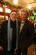 Albert Watson and Sir Paul Smith, Albert Watson book launch at the Paul Smith store, Floral St. 13 December 2004. ONE TIME USE ONLY - DO NOT ARCHIVE  © Copyright Photograph by Dafydd Jones 66 Stockwell Park Rd. London SW9 0DA Tel 020 7733 0108 www.dafjones.com