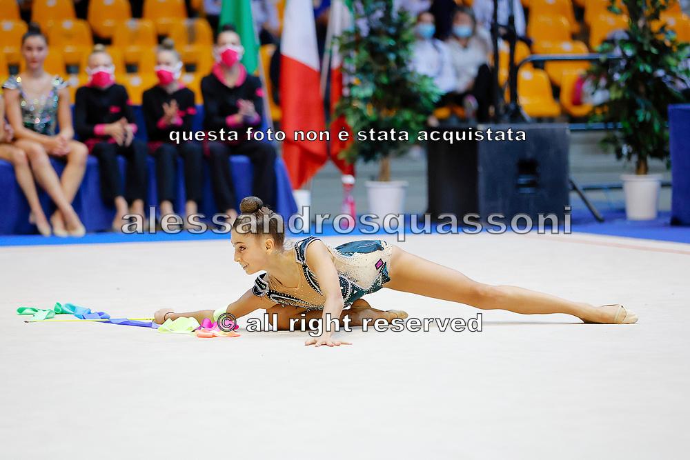 Terza Prova Regular Season Ginnastica Ritmica Serie A1 Desio 15 Ottobre 2020 Alice Capozucco dell' Armonia D'Abruzzo gareggia al campionato Italiano di Ginnastica Ritmica il 15 Ottobre a Desio.