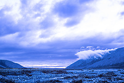 Clouds Over The Aichilik River, Arctic National Wildlife Refuge (ANWR), Alaska, US