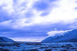 Clouds Over The Aichilik River, Arctic National Wildlife Refuge (ANWR), Alaska, US