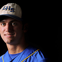 Laney High School's Ryan LaGrange poses for a portrait. Photo By Mike Spencer/STAR-NEWS