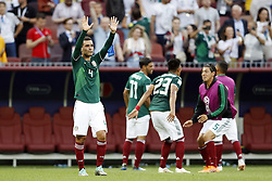 (l-r) Rafael Ma´rquez of Mexico during the 2018 FIFA World Cup Russia group F match between Germany and Mexico at the Luzhniki Stadium on June 17, 2018 in Moscow, Russia