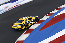 September 27, 2018 - Concord, North Carolina, United States of America - Justin Marks (42) brings his car through the turns during practice for the Drive for the Cure 200 at Charlotte Motor Speedway in Concord, North Carolina. (Credit Image: © Chris Owens Asp Inc/ASP via ZUMA Wire)