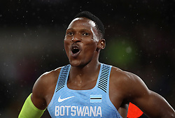 Botswana's Isaac Makwala in the Men's 200m heat one during day six of the 2017 IAAF World Championships at the London Stadium.