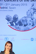 013015 Queen Letizia at the Opening ceremony of the '1st International Symposium on Cancers of  Skin