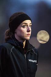 Molly Huddle, USA, pre-race,