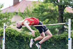 Jus Smole competes during day 2 of Slovenian Athletics Cup 2019, on June 16, 2019 in Celje, Slovenia. Photo by Peter Kastelic / Sportida