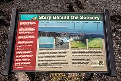 View Of Mauna Loa Interpretive Panel