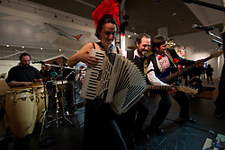 Yukon's Soir de Semaine performs at Canada's Northern House