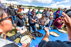 Adaka Cultural Festival 2016, Whitehorse, Yukon, Canada, Yukon First Nation Culture and Tourism Association, Kwanlin Dun Cultural Centre, drumming, hand games
