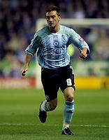 Lee Frecklington of Peterborough United<br /> Leicester City vs Peterborough United<br /> Coca Cola Championship, Walkers Stadium, Leicester, UK<br /> 15/09/2009. Credit Colorsport/Dan Rowley<br /> Football