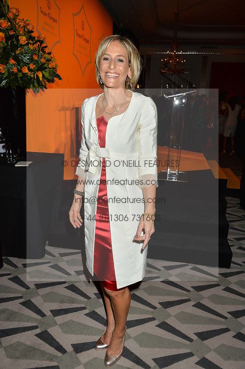 EMILY MAITLIS at the Veuve Clicquot Business Woman Award 2016 held at Claridge's Hotel, Brook Street, London on 9th May 2016.