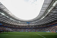 General view before the 2018 FIFA World Cup Russia, Group F football match between Germany and Mexico on June 17, 2018 at Luzhniki Stadium in Moscow, Russia - Photo Thiago Bernardes / FramePhoto / ProSportsImages / DPPI
