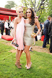 Left to right, sisters PETRA ECCLESTONE and TAMARA ECCLESTONE at the annual Serpentine Gallery Summer party this year sponsored by Jaguar held at the Serpentine Gallery, Kensington Gardens, London on 8th July 2010.  2010 marks the 40th anniversary of the Serpentine Gallery and the 10th Pavilion.