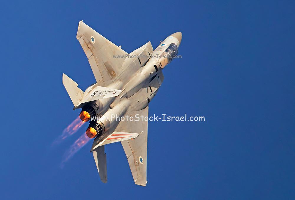 Israeli Air force (IAF) F-15C (Baz) Fighter jet in flight