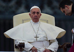 June 28, 2017 - Vatican City State (Holy See) - POPE FRANCIS  during his wednesday general audience in St. Peter's Square at the Vatican  (Credit Image: © Evandro Inetti via ZUMA Wire)