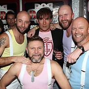 NLD/Uitgeest/20080116 - Uitreiking Popularitiets award Noord Holland 2008, Bearforce One en Gerard Joling