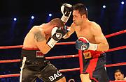 BOXEN: Middleweight, Felix Sturm - Predrag Radosevic, Dortmund, 06.07.2013<br /> Predrag Radosevic (MON; l.) - Felix Sturm (GER)<br /> ©Torsten Helmke