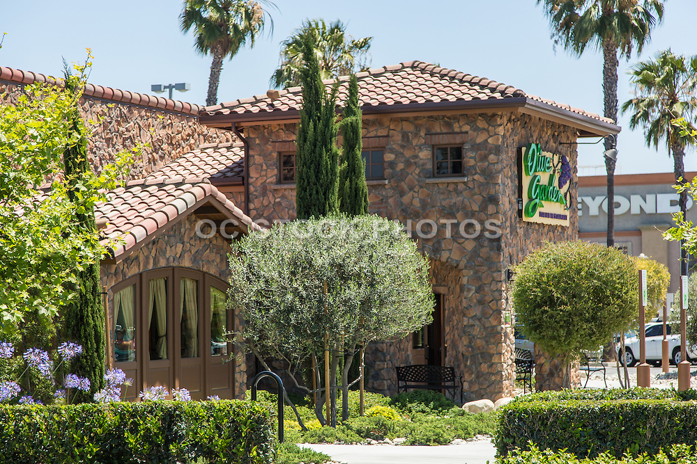 Olive Garden at the Buena Park Downtown Shopping Mall