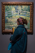 The Water-Lily Pond, 1899  -The Credit Suisse Exhibition: Monet & Architecture a new exhibition in the Sainsbury Wing at The National Gallery.