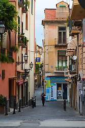 Sorrento, Italy, September 17 2017. Quiet streets at daybreak in Sorrento, Italy. © Paul Davey