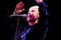 Blondie with INXS at Hallam FM Arena 6th December 2002<br /><br />Copyright Paul David Drabble<br />Freelance Photographer<br />07831 853913<br />0114 2468406<br />www.pauldaviddrabble.co.uk<br /> [#Beginning of Shooting Data Section]<br />Nikon D1 <br /> 2002/12/06 22:54:13.0<br /> JPEG (8-bit) Fine<br /> Image Size:  2000 x 1312<br /> Color<br /> Lens: 80-200mm f/2.8-2.8<br /> Focal Length: 105mm<br /> Exposure Mode: Manual<br /> Metering Mode: Spot<br /> 1/160 sec - f/2.8<br /> Exposure Comp.: 0 EV<br /> Sensitivity: ISO 800<br /> White Balance: Auto<br /> AF Mode: AF-C<br /> Tone Comp: Normal<br /> Flash Sync Mode: Not Attached<br /> Color Mode: <br /> Hue Adjustment: <br /> Sharpening: Normal<br /> Noise Reduction: <br /> Image Comment: <br /> [#End of Shooting Data Section]