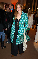 KATE GOLDSMITH at a party to celebrate the 2nd anniversary of Quintessentially magazine held at Asprey, Bond Street, London on 24th February 2005.<br />