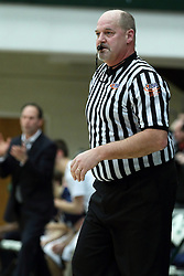 19 January 2015: 104th McLean County Tournament.  LeRoy Panthers v Ridgeview Mustangs Boys Quarter-Final at Shirk Center, Bloomington Illinois