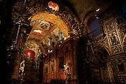 Rio de Janeiro_RJ, Brasil...Interior da Igreja do Mosteiro de Sao Bento em Rio de Janeiro...Inside of the Sao Bento Monastery in Rio de Janeiro...Foto: LUIZ FELIPE FERNANDES / NITRO
