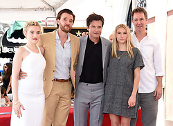 Julia Garner, Jason Butler Harner, Jason Bateman, Sofia Hublitz attend Jason Bateman's Hollywood Walk of Fame Star ceremony. 26 Jul 2017 Pictured: Julia Garner, Jason Butler Harner, Jason Bateman, Sofia Hublitz. Photo credit: O'Connor / AFF-USA.com / MEGA TheMegaAgency.com +1 888 505 6342