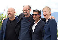 Paul Martin, James Gay-Rees, Asif Kapadia and Chris King at Diego Maradona film photo call at the 72nd Cannes Film Festival, Monday 20th May 2019, Cannes, France. Photo credit: Doreen Kennedy