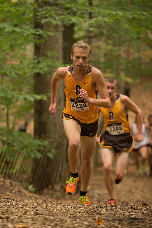 Rowan University Ethan Wolmark - Collegiate Track Conference  Cross-Country Men's Championship at Gloucester County College in Sewell, NJ on Saturday October 19, 2013. (photo / Mat Boyle)