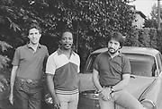 "9702-59-37. ""Mel Brown Trio. George Mitchell, Phil Baker."" 6/20/1983"