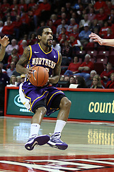 05 January 2013:  Anthony James during an NCAA Missouri Valley Conference (MVC) mens basketball game between the Northern Iowa Panthers and the Illinois State Redbirds in Redbird Arena, Normal IL