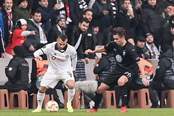 (L-R) Ricardo Andrade Quaresma Bernardo of Besiktas JK , Andreas Vindheim of Malmo FF during the UEFA Europa League group I match between between Besiktas AS and Malmo FF at the Besiktas Park on December 13, 2018 in Istanbul, Turkey