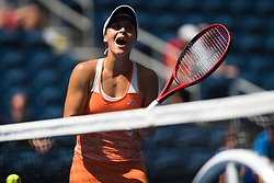 August 29, 2018 - Tatjana Maria of Germany in action during her second-round match at the 2018 US Open Grand Slam tennis tournament. New York, USA. August 29th 2018. (Credit Image: © AFP7 via ZUMA Wire)