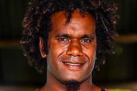 Kanak man, Tadine, Island of Mare, Loyalty Islands, New Caledonia