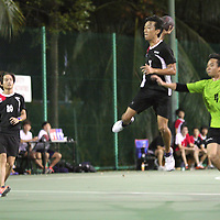 Singapore Polytechnic, Wednesday, October 2, 2013 – Defending champions Singapore Polytechnic (SP) overcame Republic Polytechnic (RP) 28–14 for their first win in the 3rd Invitational Handball Games.<br /> <br /> Story: http://www.redsports.sg/2013/10/06/handball-singapore-republic-poly/