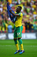 Football - 2015 Championship Play-Off Final - Middlesbrough vs. Norwich City<br /> <br /> Alex Tetley celebrates at the end of the game at Wembley.<br /> <br /> COLORSPORT/KEN SUTTON