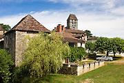 Historic town of St Jean de Cole, France