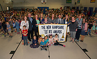 Gilford Elementary School received the EDies 2018 Elementary School of Excellence award on Thursday morning.  (Karen Bobotas/for the Laconia Daily Sun)
