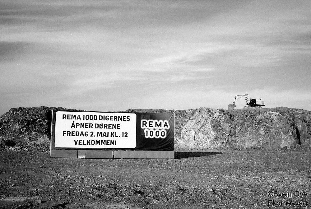 Rema 1000 Digernes.<br /> Foto: Svein Ove Ekornesvåg