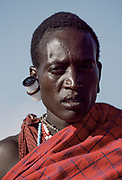 Maasai Man Film, Maasai Mara, Kenya, July, 2002